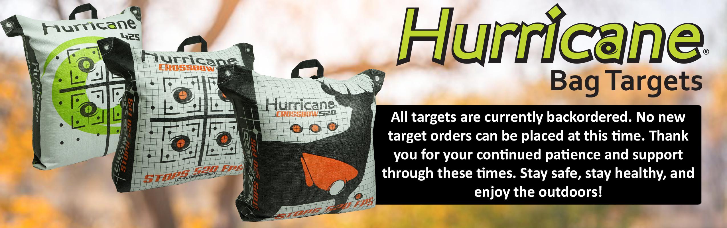 Hurricane Bag Targets