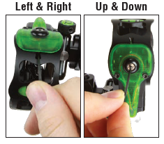 Retina Lock Adjustment