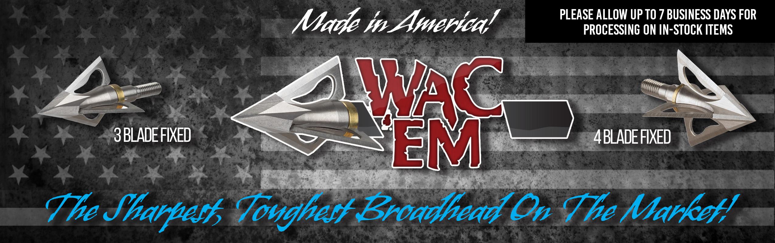 Wac'Em Broadheads Banner