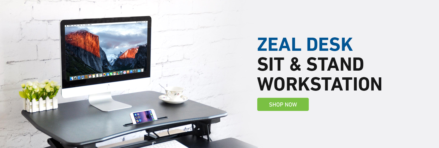 sit to stand desk converter for your work station