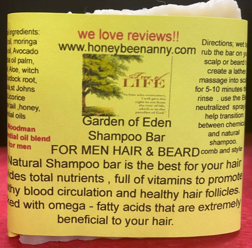 Garden of Eden Shampoo For Men hair & Beard