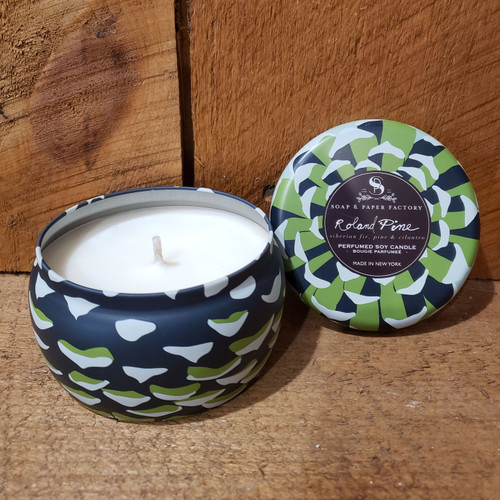 Roland Pine Soy Candle in Tin - Large