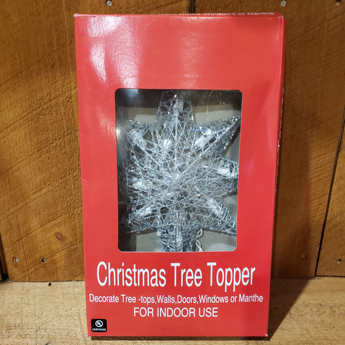 Assorted Lit Tree Toppers - 11""