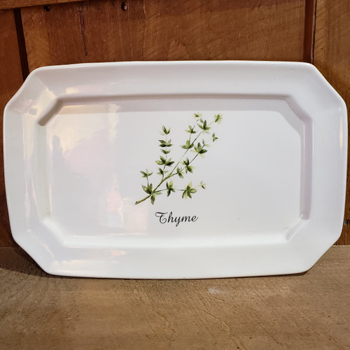 Herb Serving Plate - Thyme