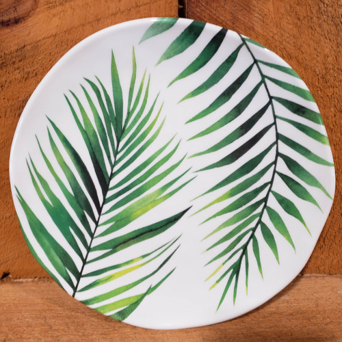 """Palm Accent Plate 8"""" - C"""