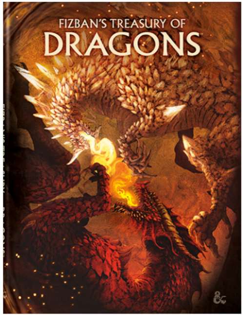 Fizban's Treasury of Dragons, Alternate Art Cover—Dungeons & Dragons (Allocated) (Pre-Order)
