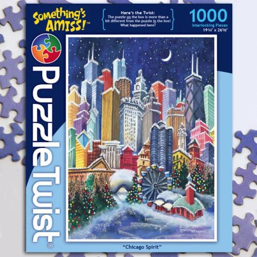 Chicago Spirit 1000pc–PuzzleTwist