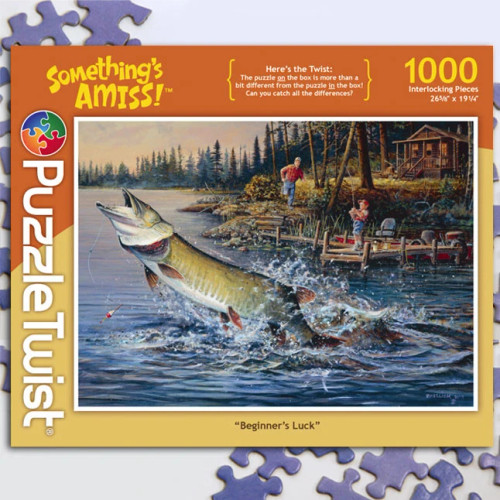 Beginners Luck 1000pc–PuzzleTwist