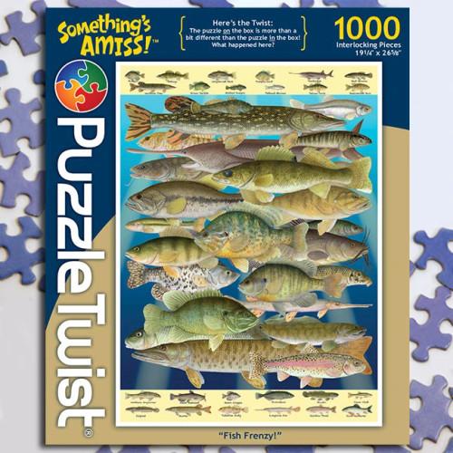 Fish Frenzy! 1000pc–PuzzleTwist