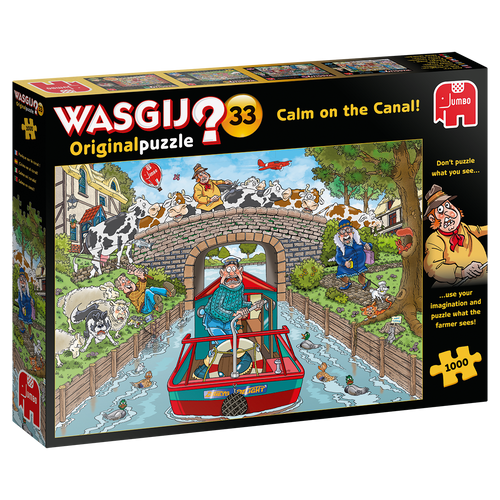 Calm on the Canal 1000pc–WASGIJ Original Puzzle