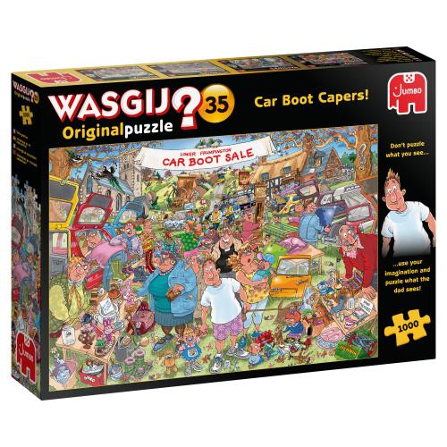 Car Boot Capers! 1000pc–WASGIJ Original Puzzle