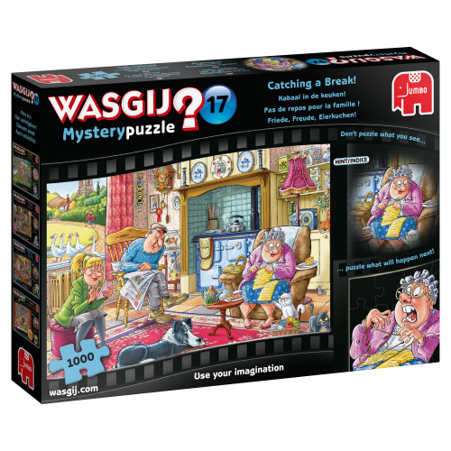 Catching a Break 1000pc–WASGIJ Mystery Puzzle