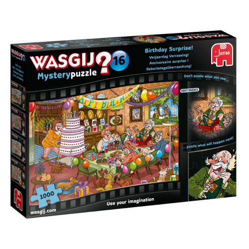 Birthday Surprise 1000pc–WASGIJ Mystery Puzzle