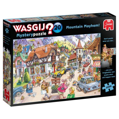 Mountain Mayhem! 1000pc–WASGIJ Mystery Puzzle