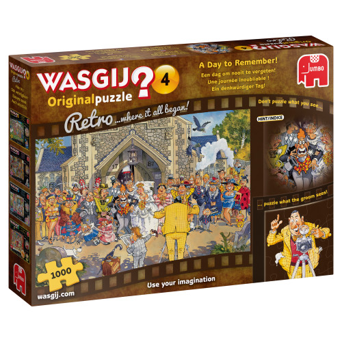 A Day to Remember 1000pc–WASGIJ Original Puzzle
