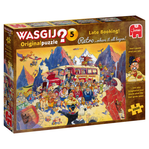 Late Booking 1000pc–WASGIJ Original Puzzle