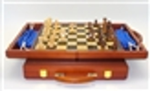 """13"""" Folding Chess Set with Handle"""