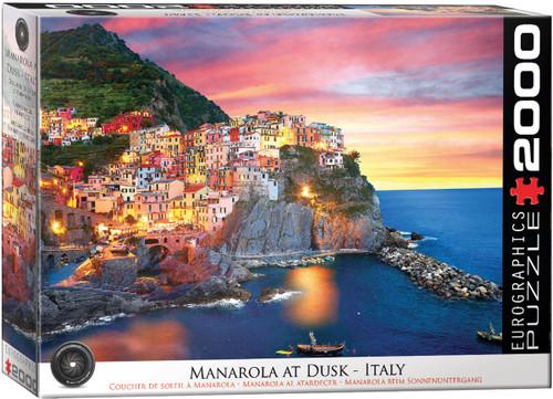 Manarola at Dusk, Italy 2000pc