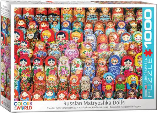 Russian Matryoshkas Dolls 1000pc