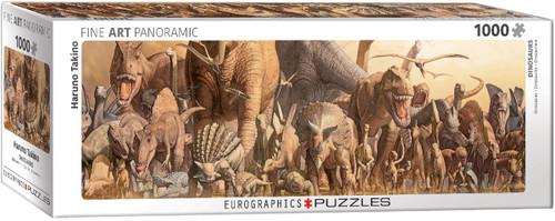 Dinosaurs, Takino Panoramic 1000pc