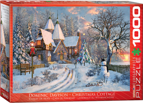 Christmas Cottage 1000pc (On Order)
