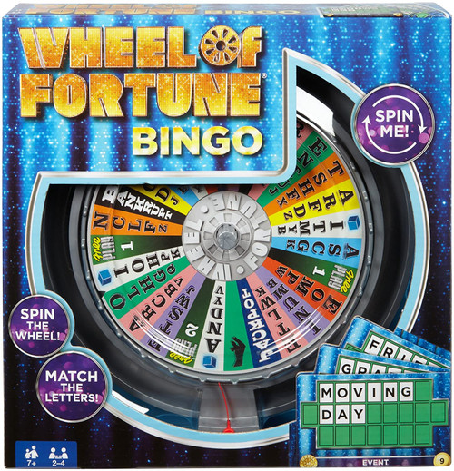 Wheel of Fortune Bingo