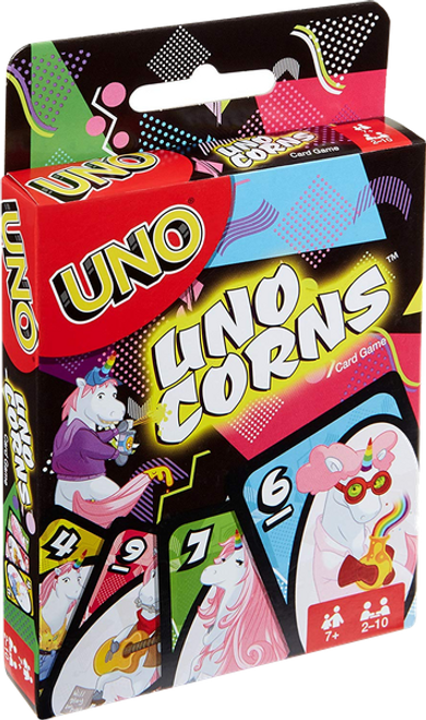 Uno-Corns (Uno Unicorns) box