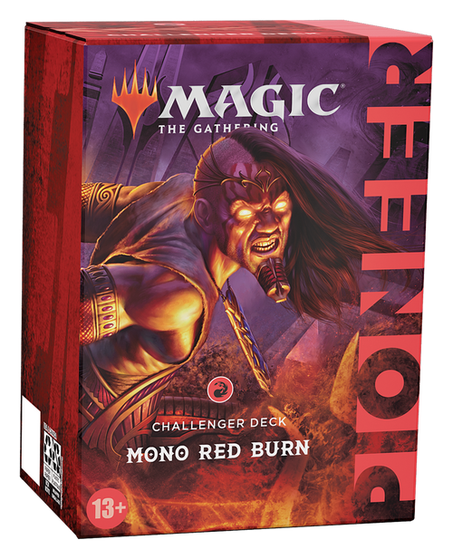 Mono Red Burn, Pioneer Challenger Deck 2021–Magic: the Gathering