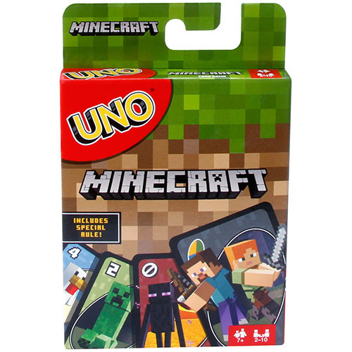 Uno Minecraft box