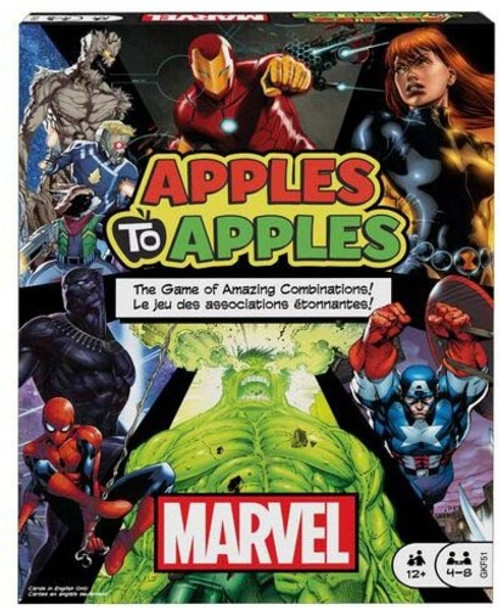 Marvel Apples to Apples