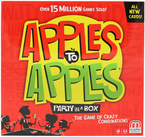 Apples to Apples Party Box 500+ cards
