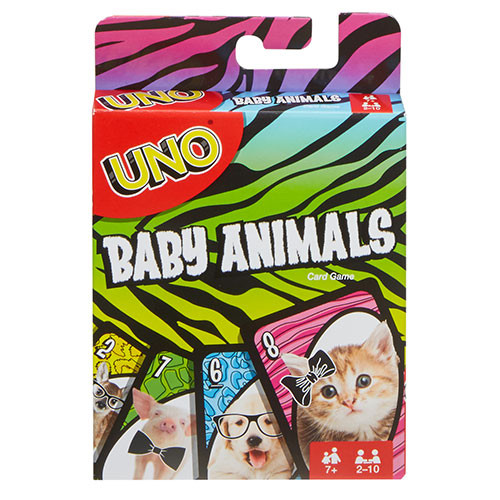 Uno Baby Animals box