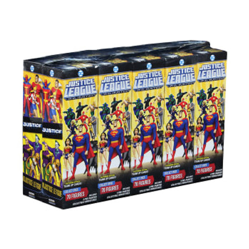HC: Justice League Unlimited 5-fig bstr