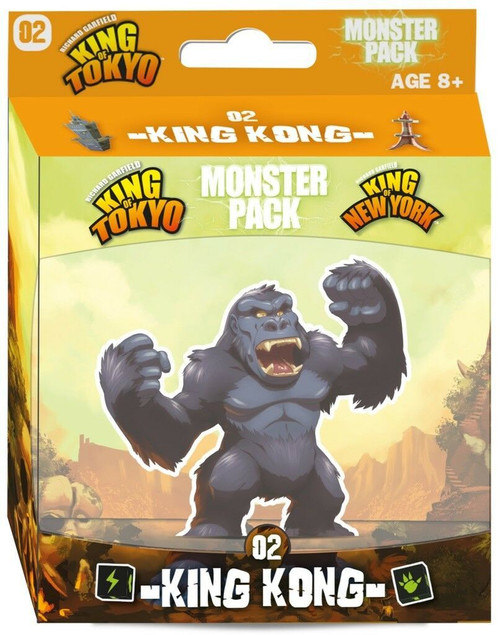 King of Tokyo 2nd Edition: King Kong Monster Pack