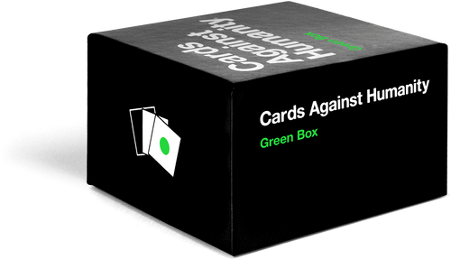 Green Box (new cards) Cards Against Humanity