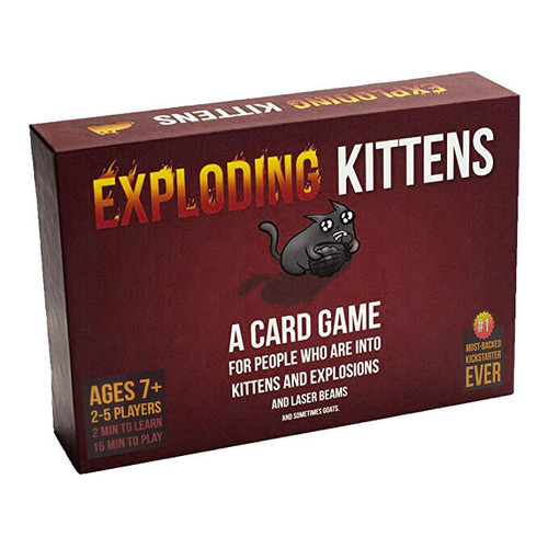 Exploding Kittens First Edition (meows) (In-Store Pickup Only) (Sold Out)