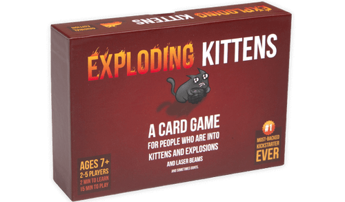 Exploding Kittens (does not meow) (In-Store Pickup Only)