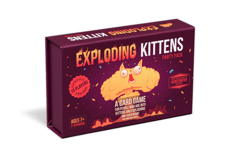 Exploding Kittens Party Pack (In-Store Pickup Only) (Sold Out)