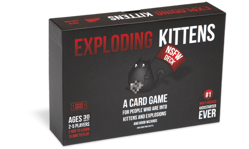 Exploding Kittens NSFW Edition (In-Store Pickup Only) (Sold Out)