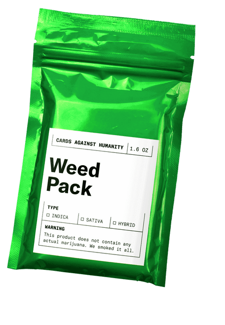 Weed Expansion Cards Against Humanity
