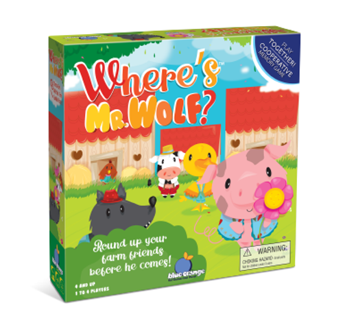 Box image of Where's Mr. Wolf?