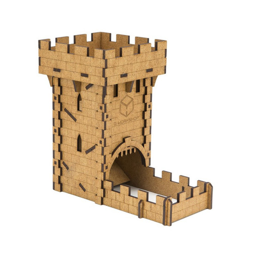image of dice tower