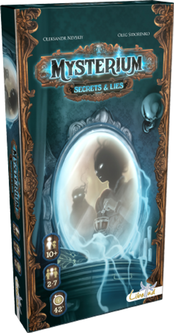 Mysterium: Secrets and Lies box image