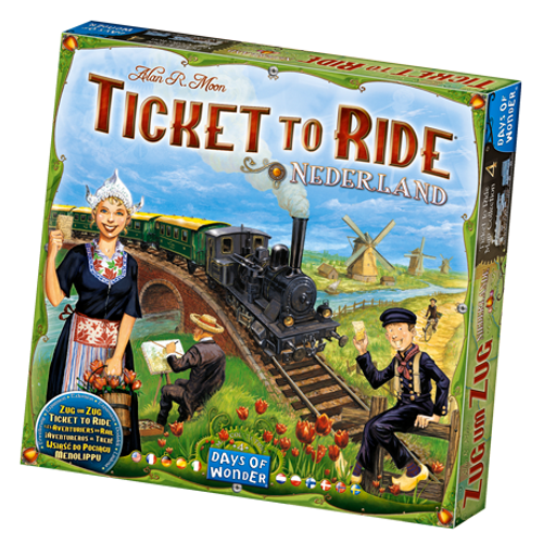 Ticket to Ride: Nederland Map box image