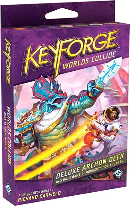 Keyforge Deluxe Deck: Worlds Collide