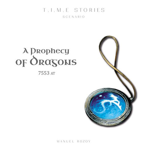 T.I.M.E. Stories: A Prophecy of Dragons box image