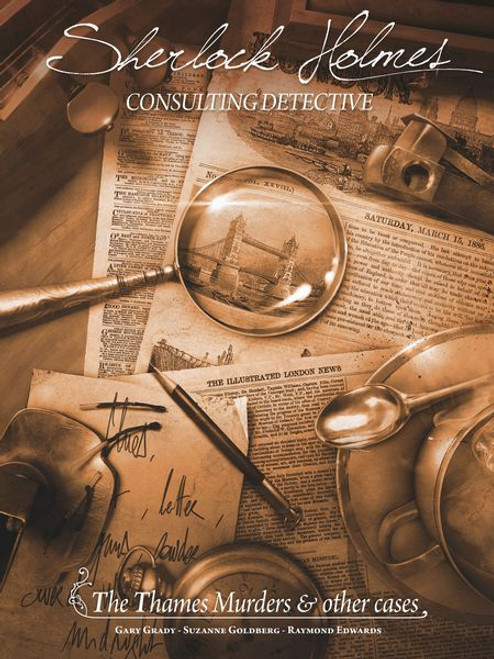 Sherlock Holmes Consulting Detective: Thames Murders & Other Cases box image