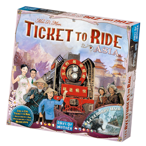 Ticket to Ride: Asia Maps box image