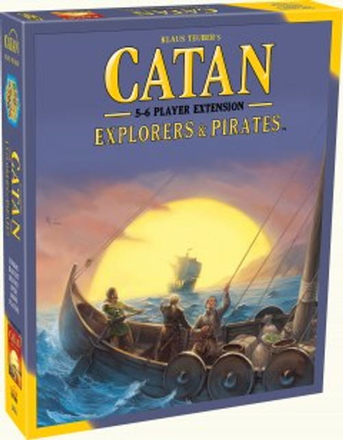 Catan Explorers and Pirates 5-6 Player Expansion Box