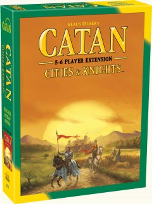 Catan city and knights 5-6 expansion box